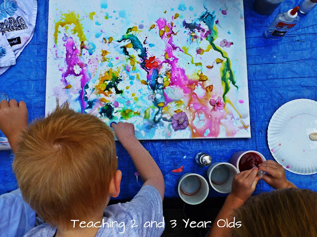Teaching 2 And 3 Year Olds Preschool Canvas Art