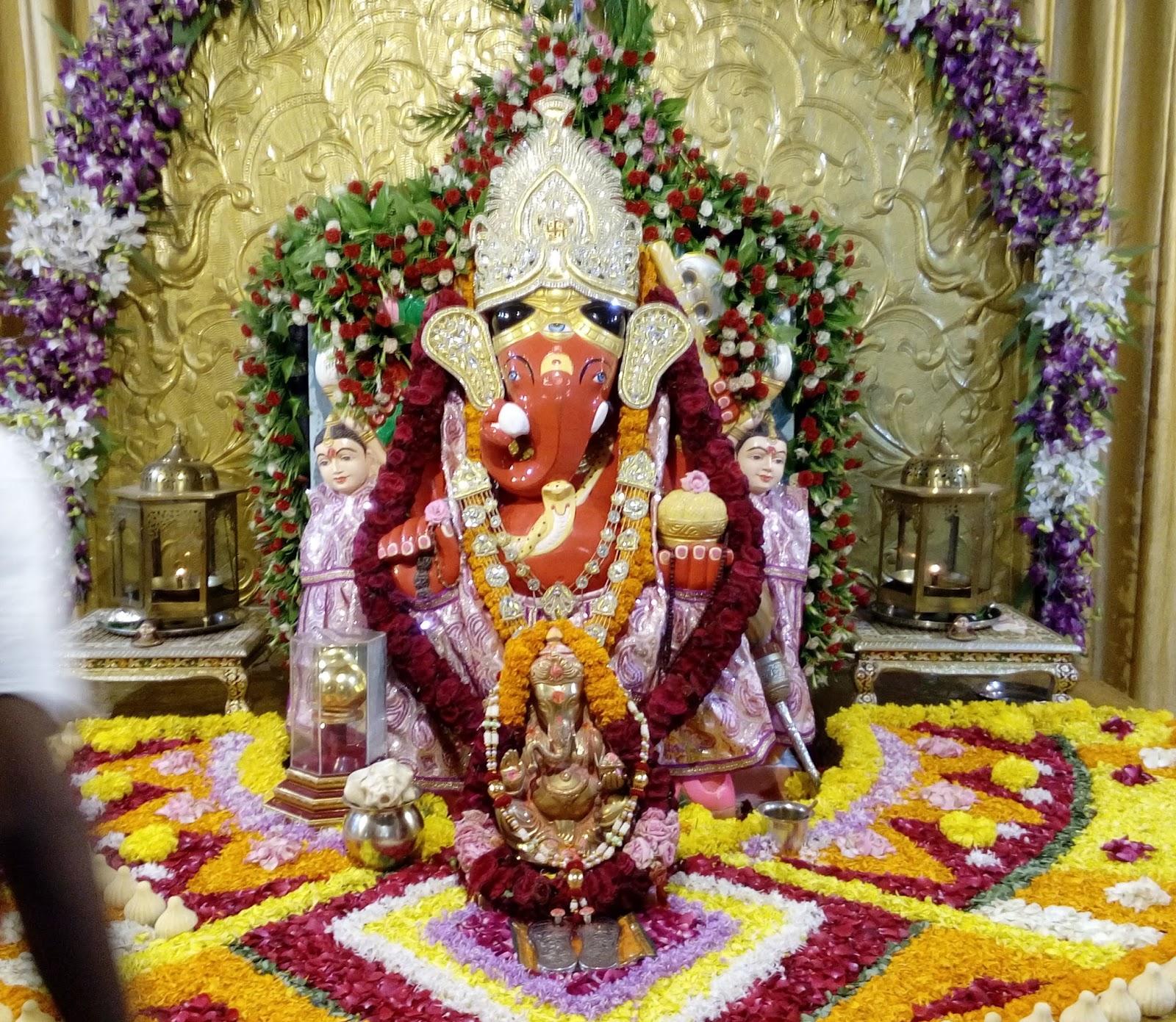 Great Wallpaper Lord Siddhivinayak - Siddhivinayak-Temple-Mahemdavad-%2BGanesha%2BIdol  Snapshot_46845.jpg