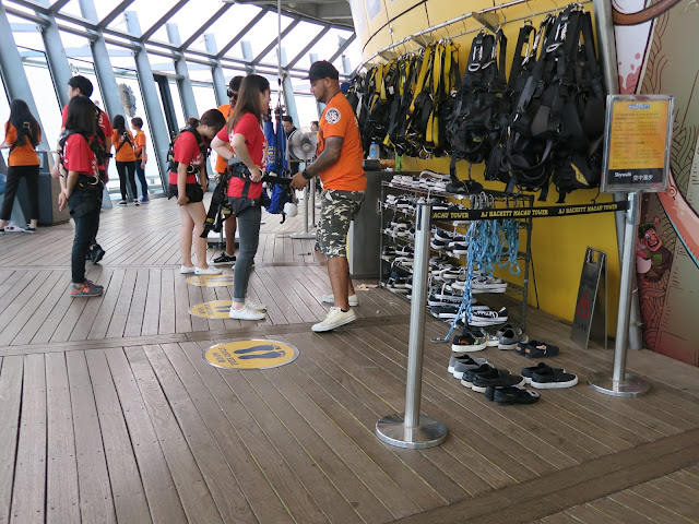 sky Jump bungy Macau Tower