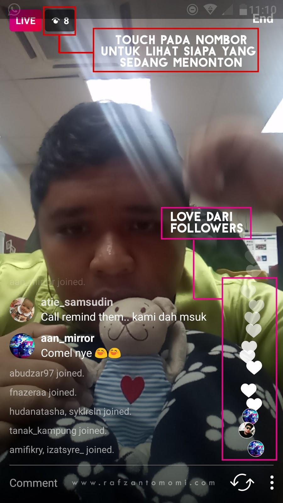 Cara Guna Instagram Live