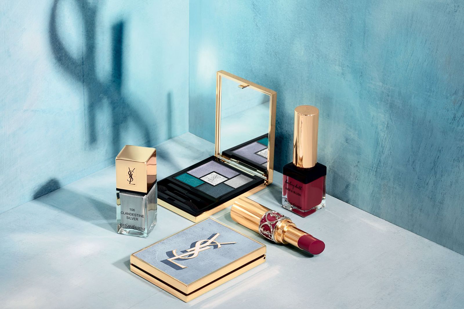 ysl yves saint laurent collection maquillage ete summer 2018