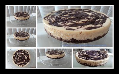 bolo americano de queijo; cheesecake; receita com nutella; chocolate; sobremesa; lanche feito com nutella; torta doce; TCintra; guloseimas doces
