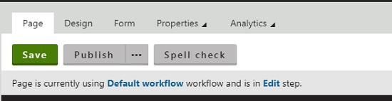 Kentico Workflow