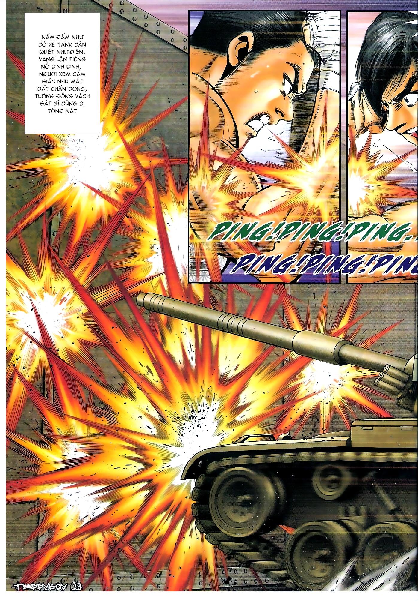 Người Trong Giang Hồ - Chapter 1306: Vinh Nhục Nhất Chiến 1 - Pic 18