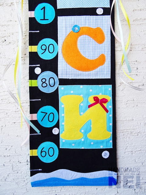 "Handmade Nel: Метър за дете ""Деси"""