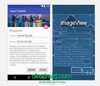 Contoh Design ConstraintLayout Android