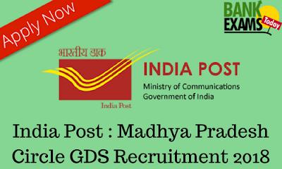 India Post: Madhya Pradesh Circle GDS Recruitment 2018