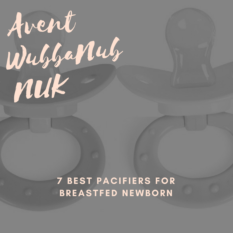 7 Best Pacifiers For Breastfed Newborns Avent Wubbanub Nuk And More