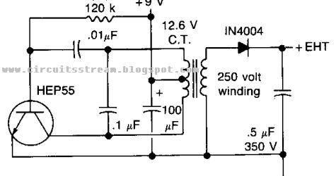 the high voltage geiger counter supply wiring diagram schematic    collection schematic