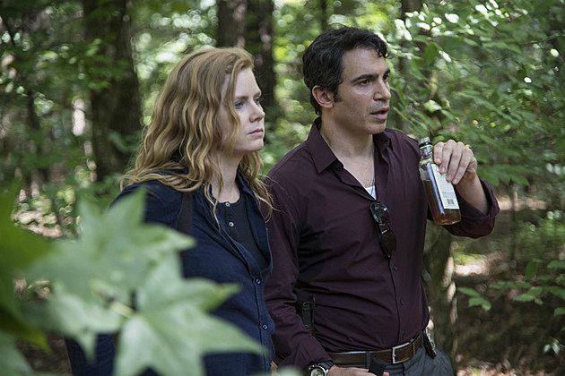 Still from Sharp Objects on HBO featuring Chris Messina and Amy Adams