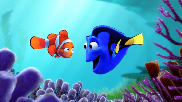 "In ""Finding Dory"", Marlin the clownfish and Dory the tang are back for another adventure"