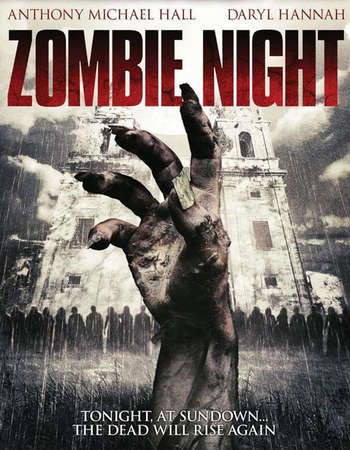 Poster Of Zombie Night 2013 Dual Audio  300MB  720p  HEVC - UNCUT Free Download Watch Online world4ufree.org