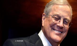 David Koch – US$ 43.5 bilhões (EUA) – Koch Industries