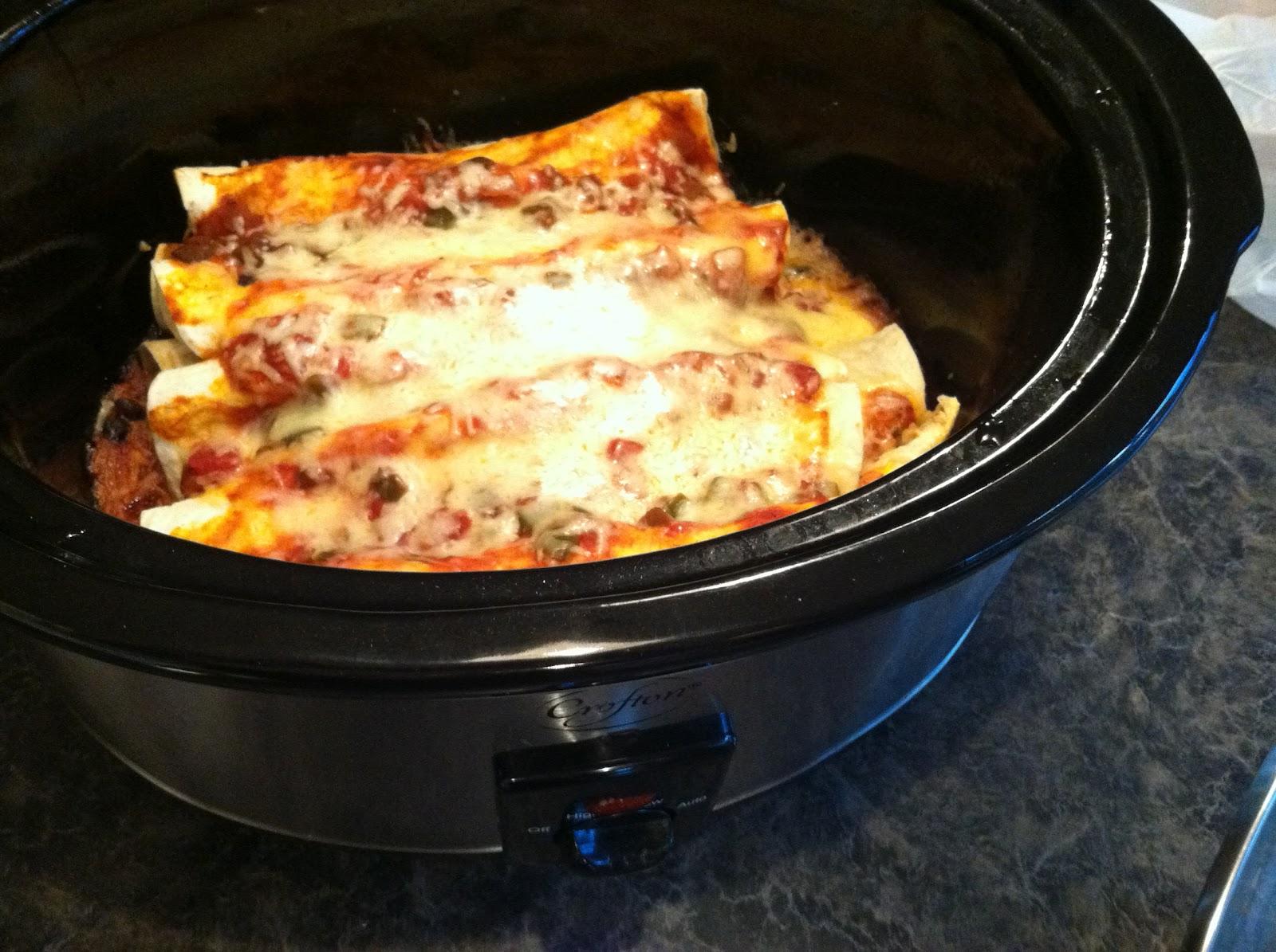 Creative Me Glutenfree Crock Pot Vegetarian Enchiladas