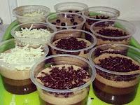 Resep dan Cara Membuat Puding Terapung Coklat