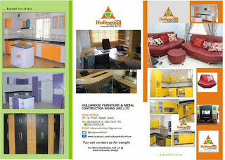 Get the quality furniture from Hollywood furniture and metal construction works Nig. ltd