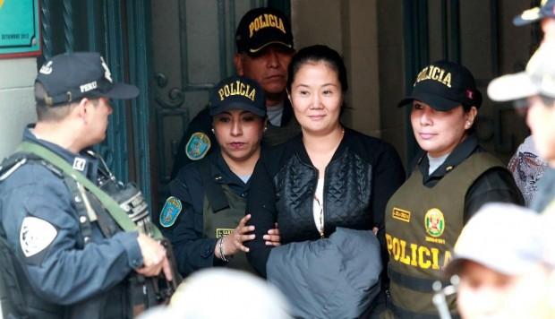 Keiko Fujimori es acusada de haber recibido más de $us 1 millón de Odebretch / EL COMERCIO