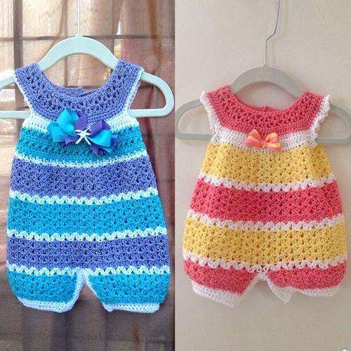 Overalls for children yarn crochet for Crochet crafts for kids