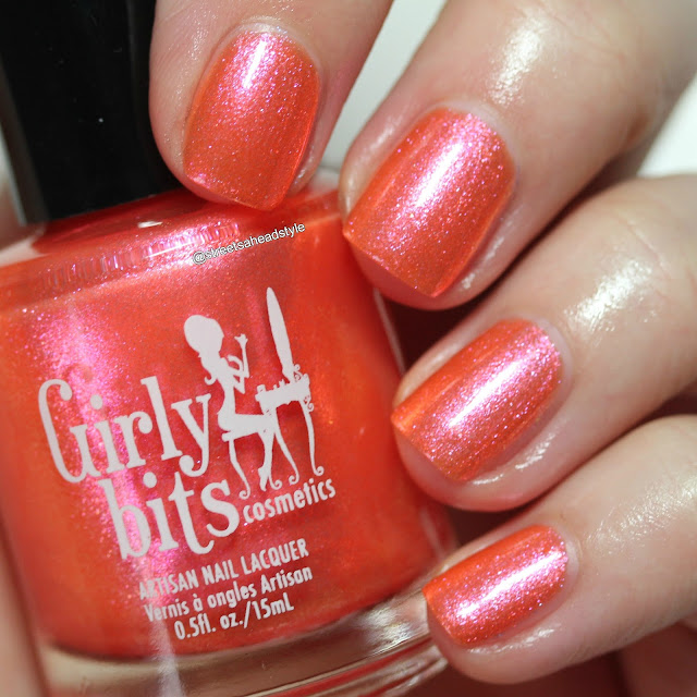 Girly Bits Summer Crush swatch