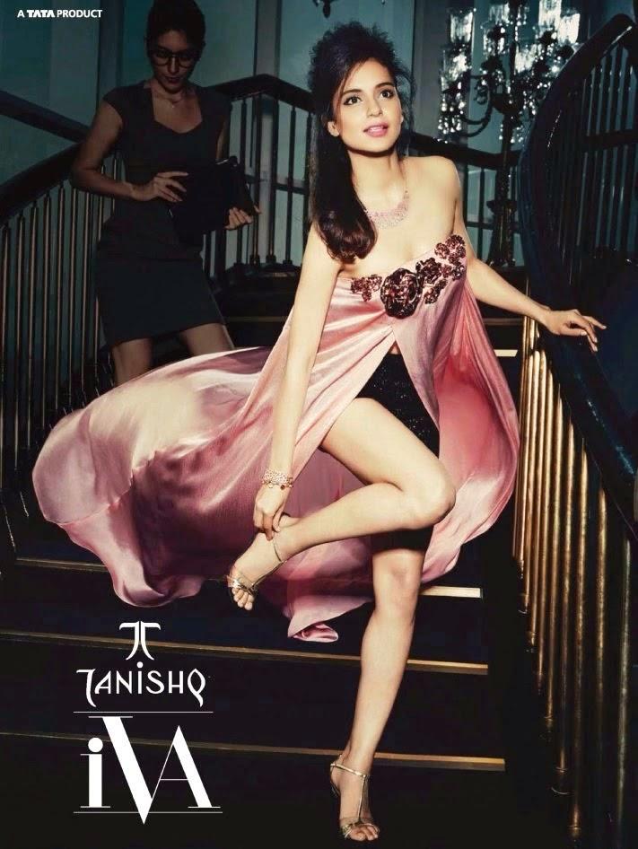 , Kangana Ranaut Photoshoot For Tanishq - Hot HD Pics