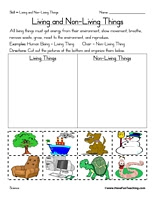 Worksheet Living And Nonliving Worksheets kindergarten science worksheets living and nonliving things worksheet for living