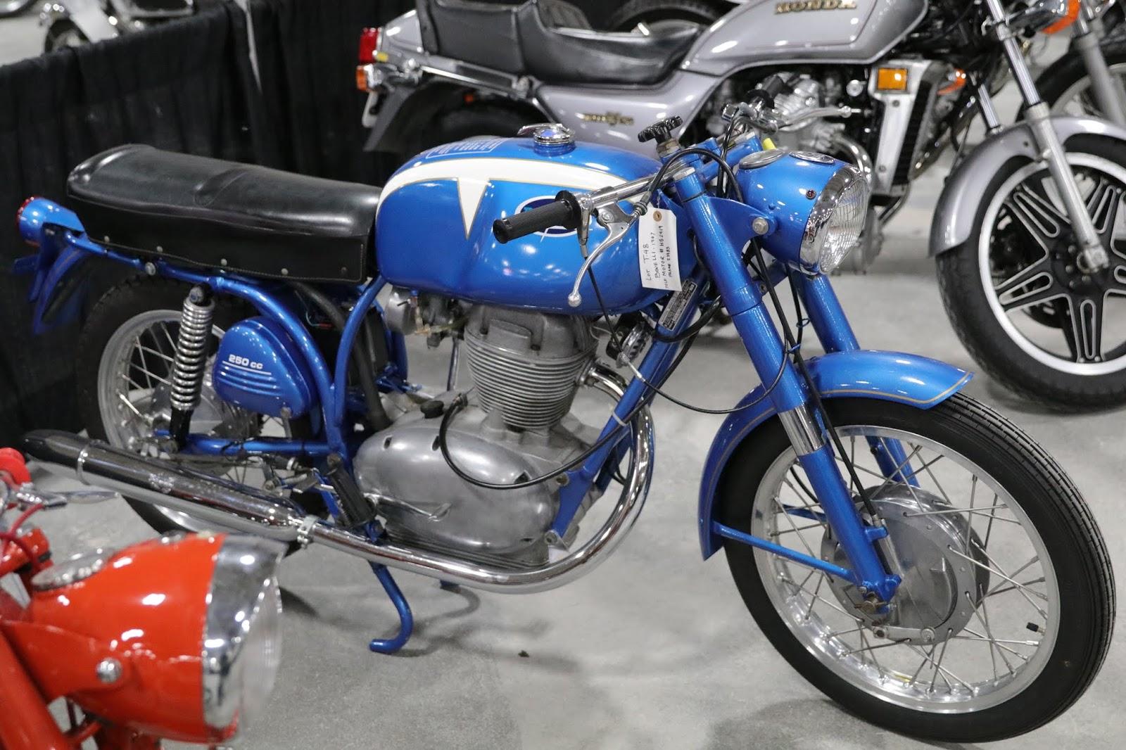 OldMotoDude: 1967 Wards/Benelli Riverside Sold For $2,200