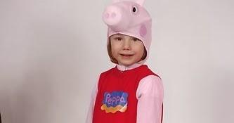 Acquista i più venduti il più votato reale salvare Il costume di Peppa Pig. L'abito di Carnevale 2014 per le ...