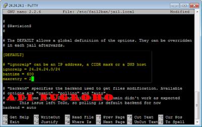 Instalasi   dan  Konfigurasi   Fail2Ban Debian
