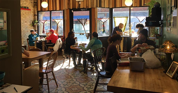 Tricklebee Café in Milwaukee for low income families