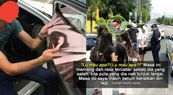 'Lu Ini Hari Sudah Silap Pilih Orang Mau Tunjuk Samseng Atas Jalan'