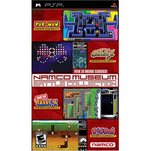 Namco Museum Battle Collection - PSP - ISO Download