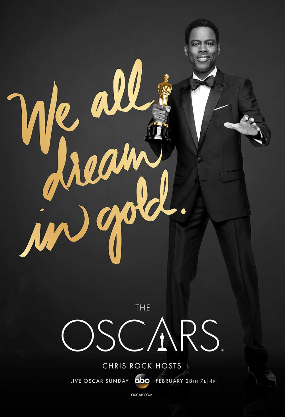 The Oscars Completo Torrent - HDTV 720p (2016)