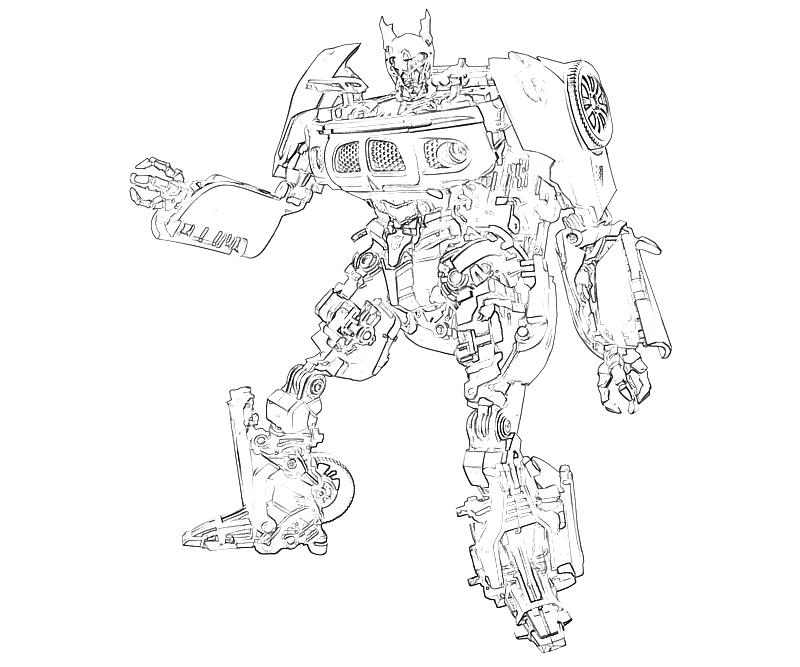 jazz coloring pages - transformers fall of cybertron jazz character mario