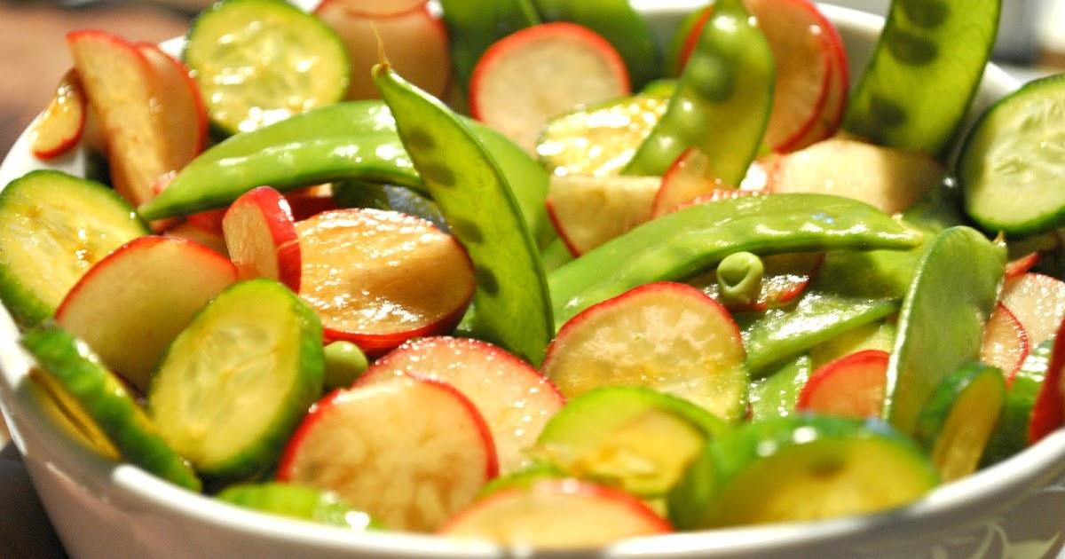 d lices et confession partage de recettes et d couvertes salade de pois mange tout concombre. Black Bedroom Furniture Sets. Home Design Ideas