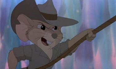 Jack Disney movie The Rescuers Down Under 1990 animatedfilmreviews.filminspector.com