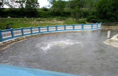 Tempat Wisata Banyu Panas Palimanan Cirebon Telaga Biru