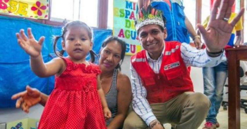 CUNA MÁS: Programa social distribuye material didáctico a las niñas y niños de zona fronteriza de Loreto - www.cunamas.gob.pe
