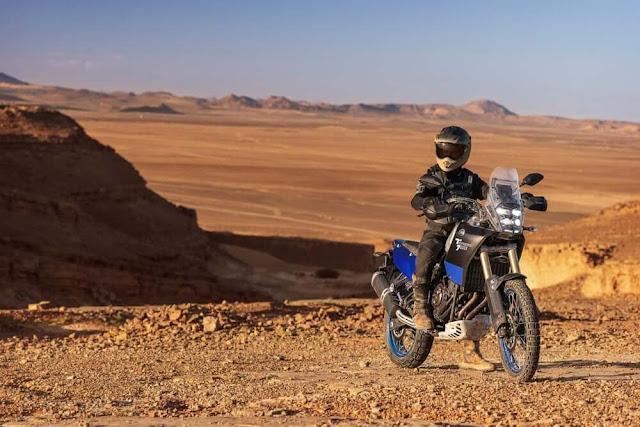 Yamaha Tenere 700 básica con estilo rally