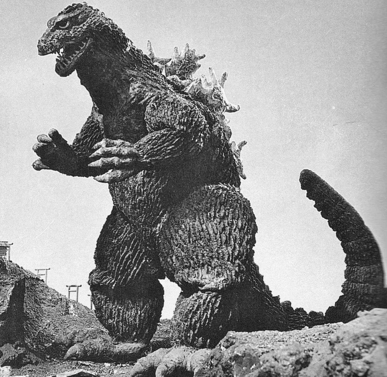 Baker's Log: Pix From Godzilla Movies. Just Because
