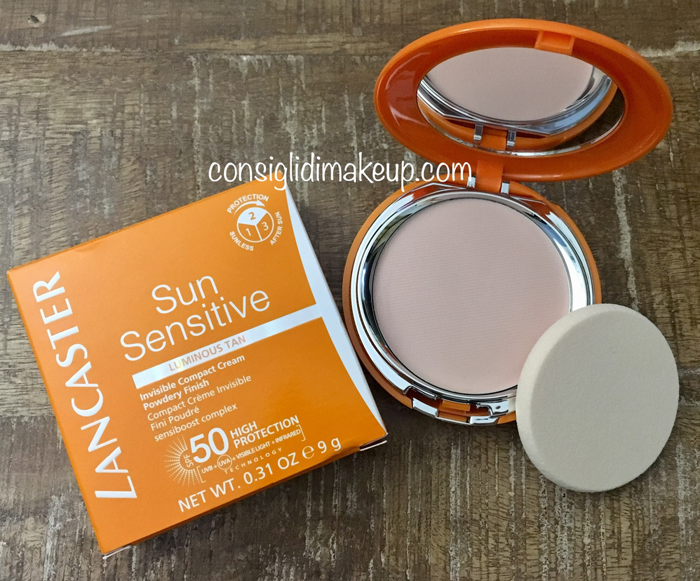 Lancaster Sun Sensitive Invisible Compact Cream Spf 50 recensione