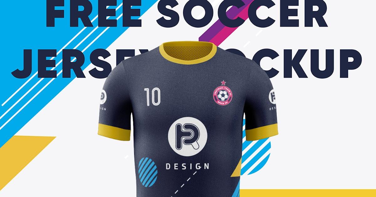 Download shirt mockup Soccer Jersey Mockup (Front View) free vector ... Free Mockups