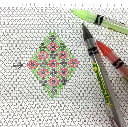 Useful Free Printable Graph Paper for Different Beading Stitches - free printable graph