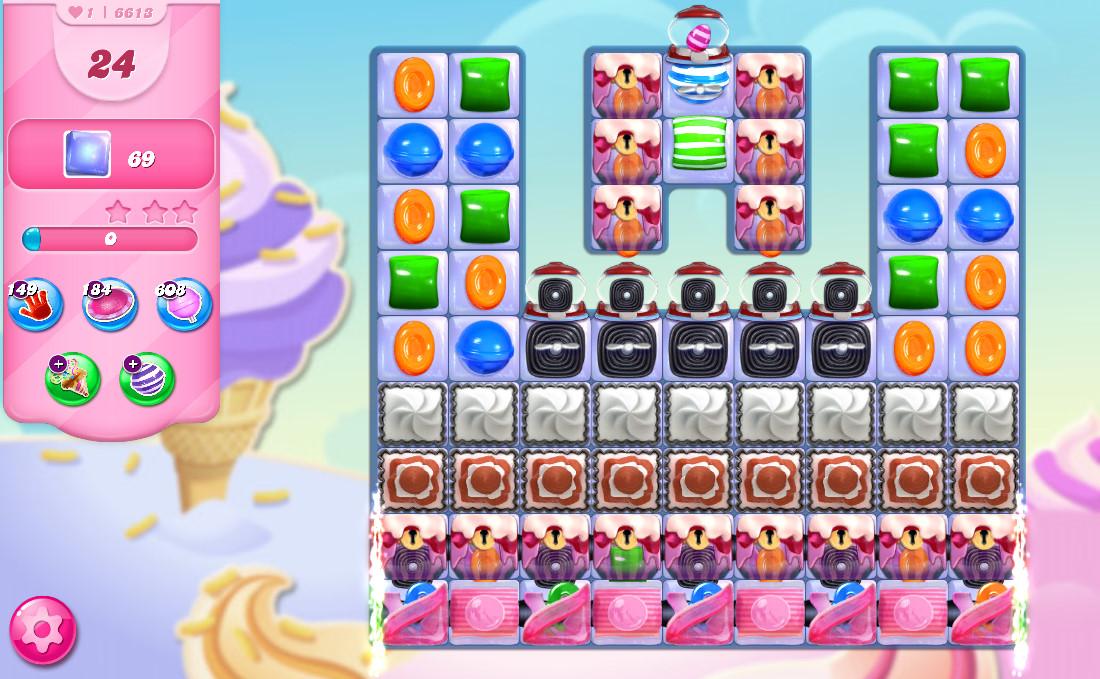 Candy Crush Saga level 6613