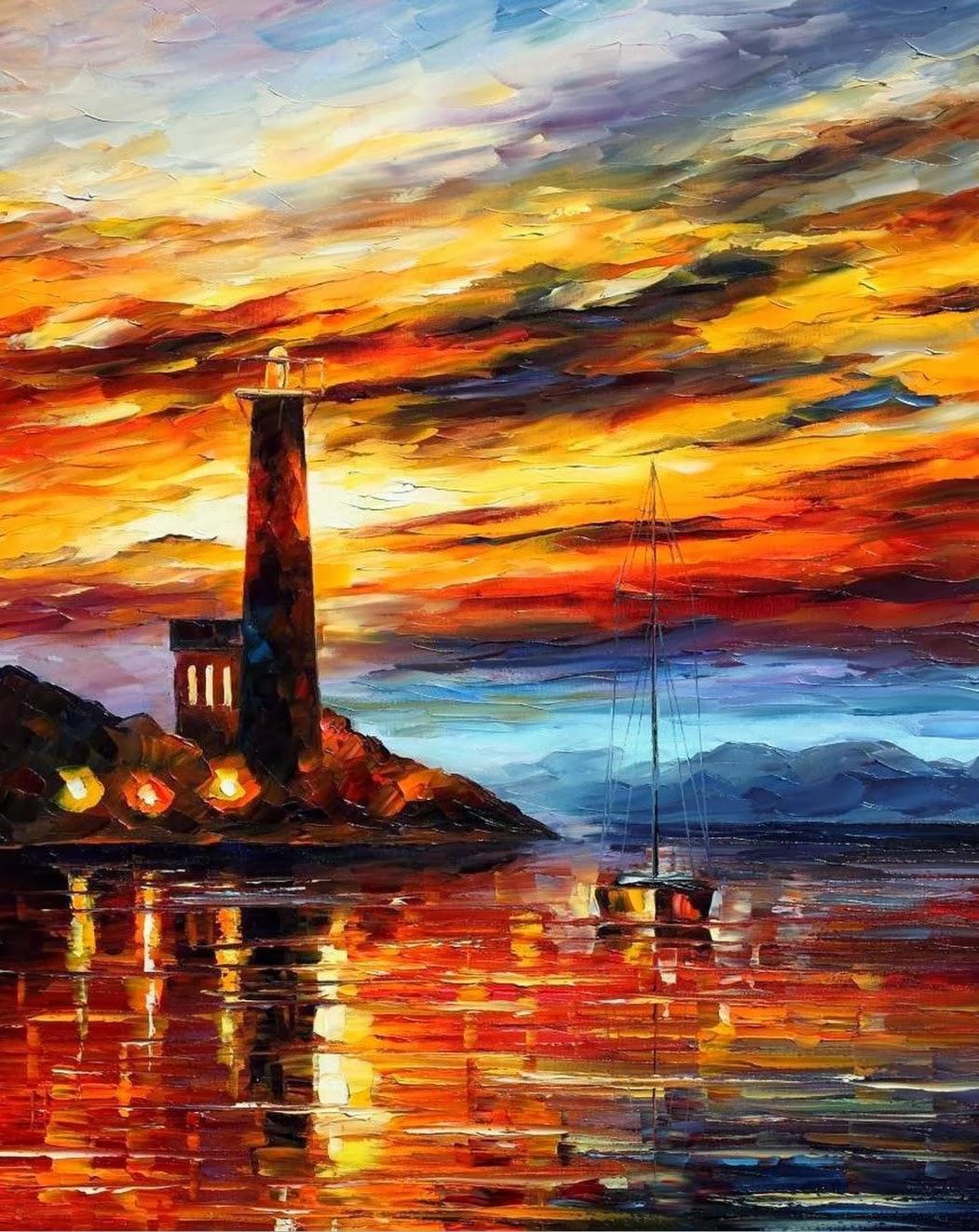 Pintura Al Oleo Paisajes Marinos Imagenes Arte Pinturas Oleos