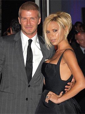 Top Football Players: David Beckham Wife Victoria Beckham ...