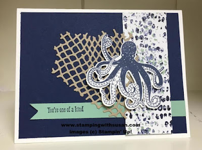 Stampin' Up! Sea of Textures Under the Sea Framelits Tranquil Textures Designer Series Paper