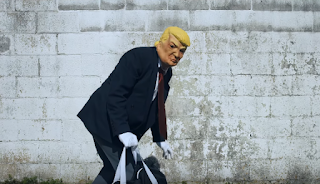 Trump can't get over wall It Aint My Fualt