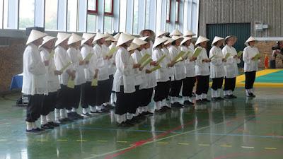 Spectacle de taichi chuan Le Chant du Taiji Quan