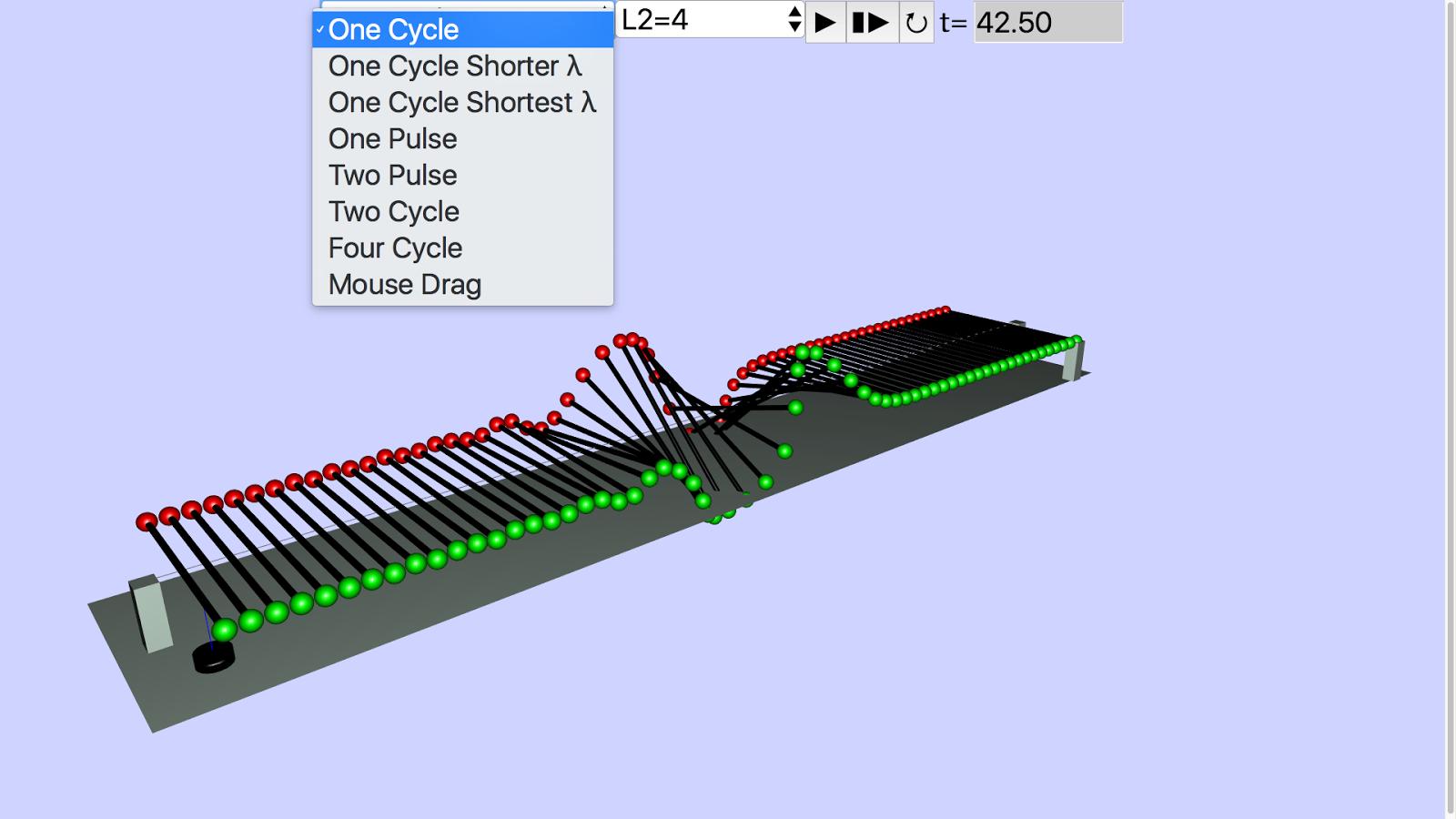3d wave machine javascript html5 applet simulation model open3d wave machine javascript html5 applet simulation model