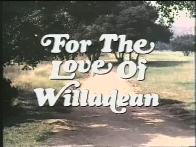 For the Love of Willadean title screen